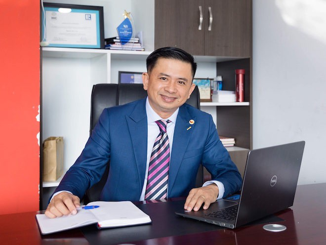 Ông Nguyễn Đức Lập, Viện trưởng Viện nghiên cứu đào tạo bất động sản.