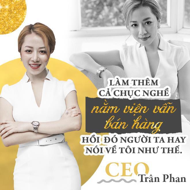 CEO Trân Phan - giám đốc điều hành của chuỗi thương hiệu kính áp tròng Doll Eyes