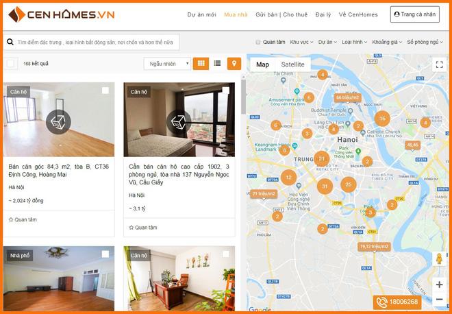 Mô hình bán nhà kiểu mới tại CenHomes