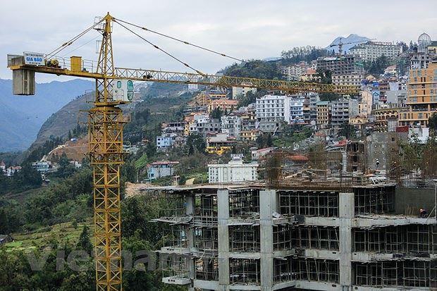 Sa Pa được phê duyệt ồ ạt các dự án BĐS, khách sạn và nghỉ dưỡng (Ảnh: Minh Sơn/TTXVN).