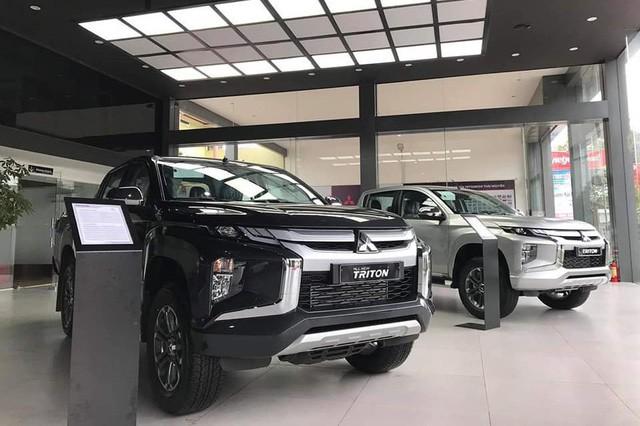 Mitsubishi Triton đang trong tình trạng không có xe giao.