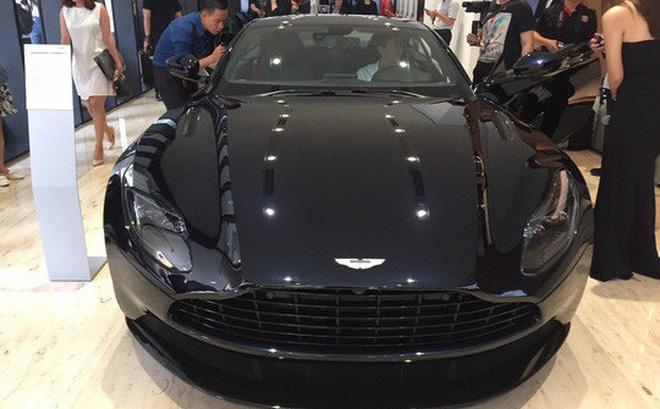 Thương hiệu xe siêu sang Aston Martin vừa chính thức gia nhập thị trường Việt Nam.