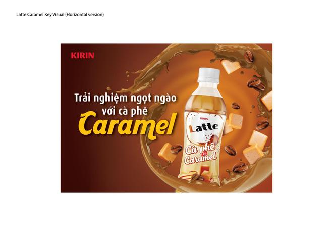 KIRIN ra mắt sản phẩm mới mang tên KIRIN Latte Cà phê & Caramel
