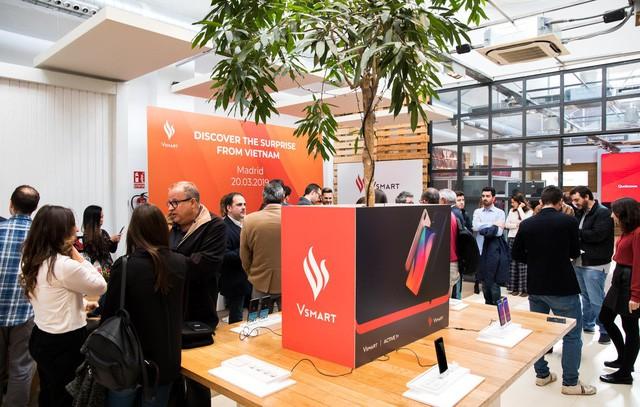 Điện thoại Vsmart ra mắt tại châu Âu