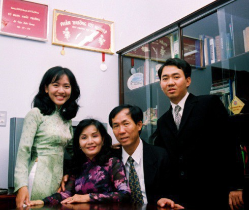 Gia đình Lê Diệp Kiều Trang