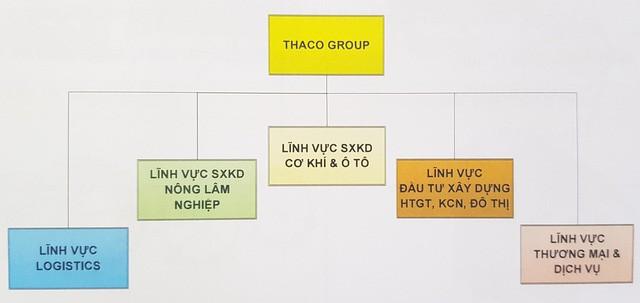 Mô hình Thaco Group theo hường holdings.