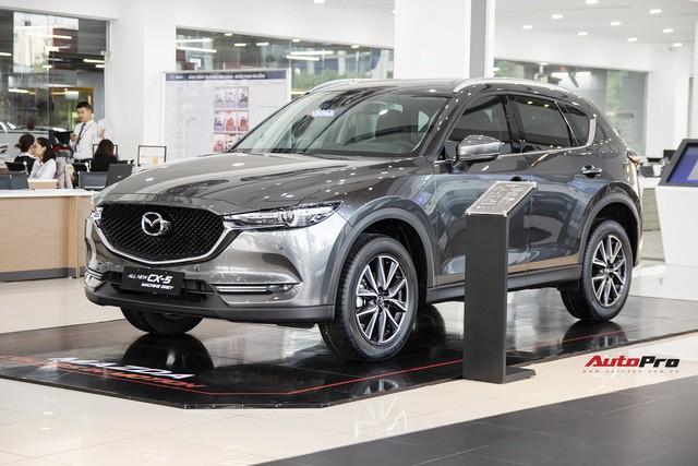 Giá Mazda CX-5 tiếp tục giảm trong tháng 5.