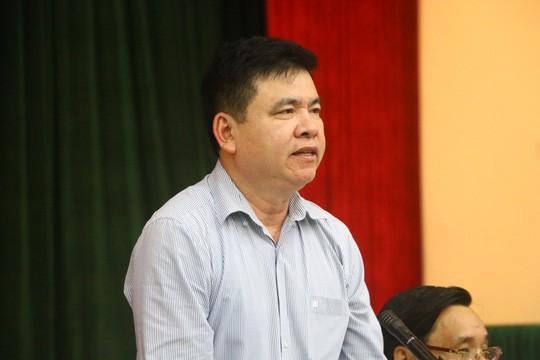 Ông Trần Xuân Hà, Phó trưởng Ban Tuyên giáo Thành ủy Hà Nội, thông tin chiều 14-5