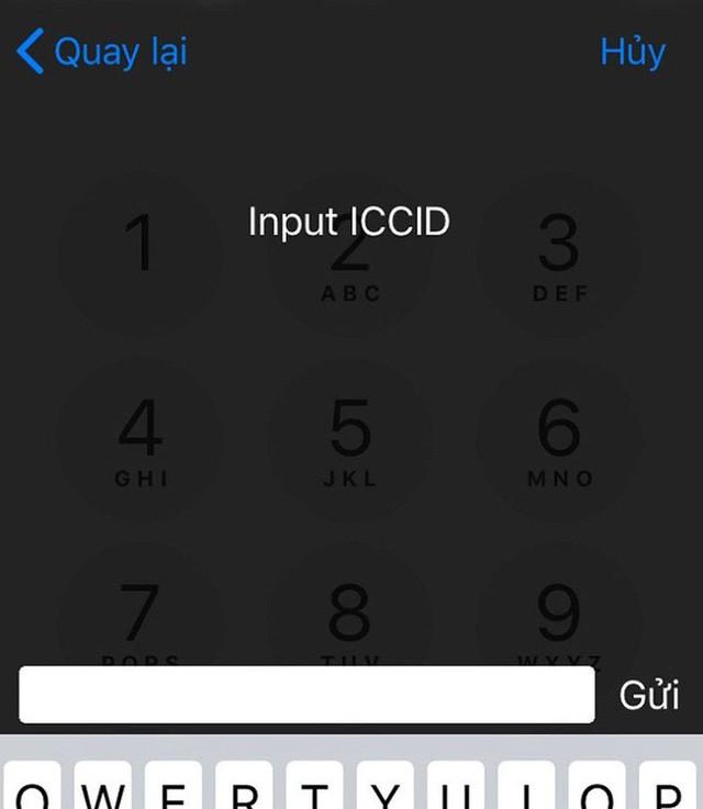 ICCID là đoạn mã cần thiết để iPhone Lock có thể hoạt động được