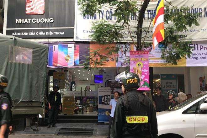 Ngày 9.5, Cục Cảnh sát điều tra tội phạm về tham nhũng kinh tế buôn lậu (C03), Bộ Công an đã khám xét toàn bộ hệ thống cửa hàng điện thoại Nhật Cường Mobile.