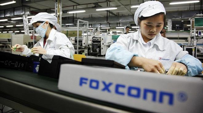 Cả triệu lao động Trung Quốc làm việc trong các nhà máy lắp ráp iPhone, iPad của tập đoàn Foxconn (ảnh: Foxconn).