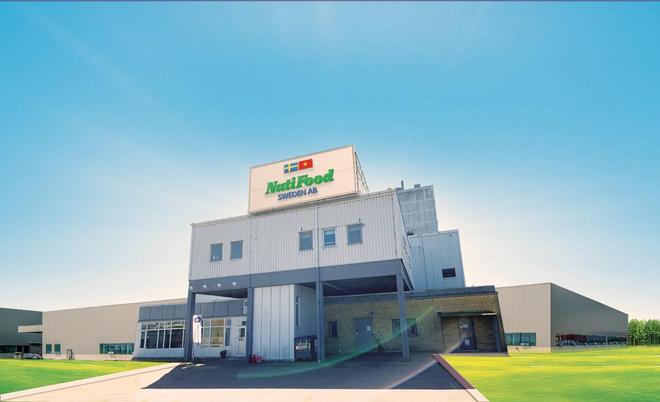 Nhà máy NutiFood Sweden AB là Dự án đầu tư của NutiFood (sở hữu 50% vốn) cùng Tập đoàn Backahill của tỷ phú Erik Paulsson (25% vốn) và Skånemejerier Ekonomisk Förening (25% vốn).