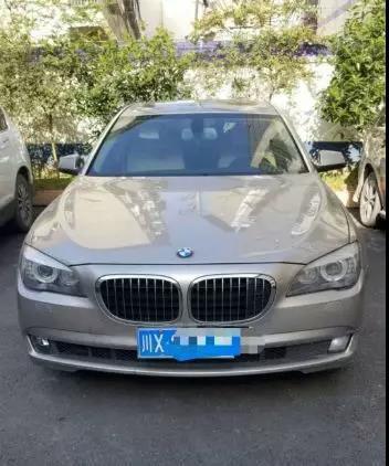 Chiếc xe BMW mà A Cường thường sử dụng.