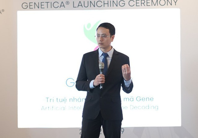 Tuấn Cao, CEO, đồng sáng lập Genetica