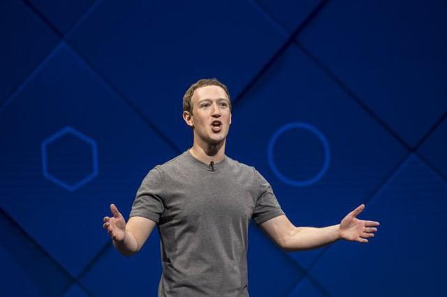 CEO Facebook Mark Zuckerberg tại Hội nghị Các nhà phát triển F8 năm 2017. (Ảnh: David Paul Morris | Bloomberg qua Getty Images)