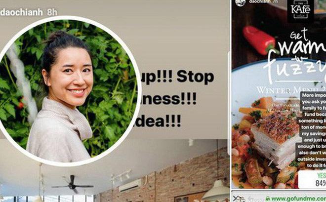 Chia sẻ của bạn M.D về thông tin kêu gọi vốn nhằm mở lại The KAfe của cựu CEO Đào Chi Anh (Ảnh chụp màn hình).