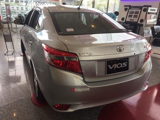 Toyota triệu hồi cả trăm xe Vios do lỗi ở cụm bơm túi khí