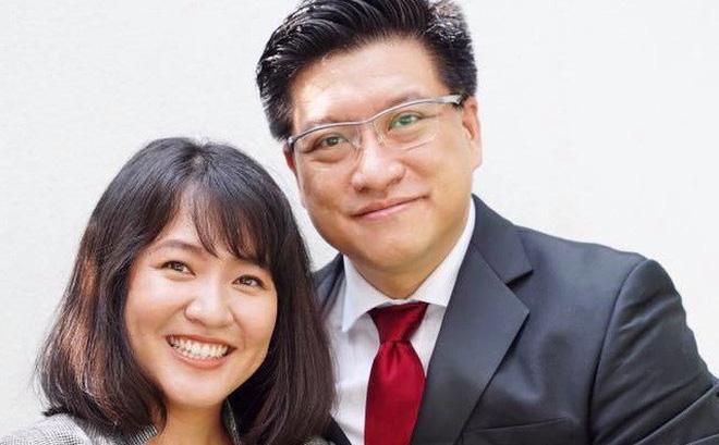 Sonny Vũ và Lê Diệp Kiều Trang, 2 người đồng sáng lập Misfit. Ảnh: FBNV.