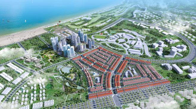 Phối cảnh tổng quan dự án Nhơn Hội New City