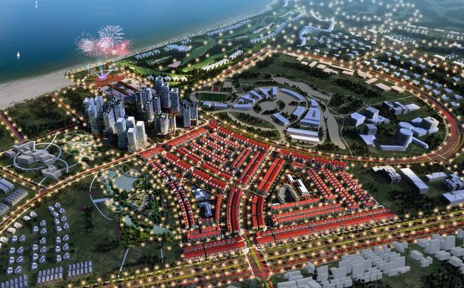 Phối cảnh ban đêm dự án Nhơn Hội New City