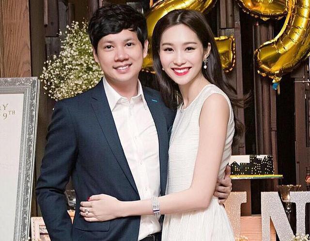 Trung Tín kết hôn với hoa hậu Thu Thảo vào năm 2017.