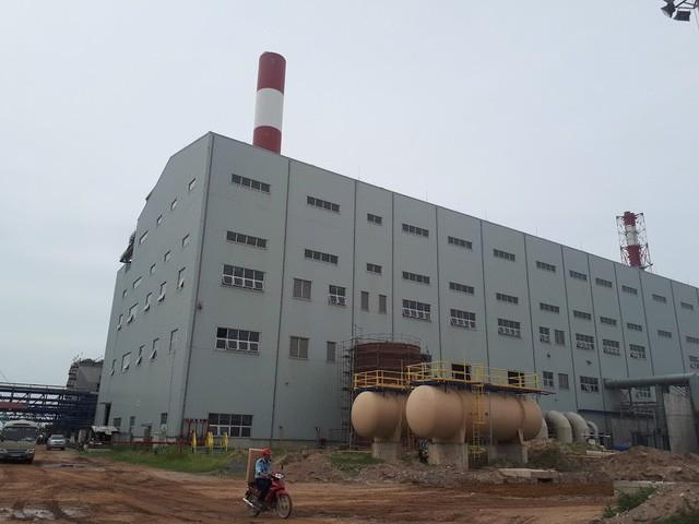 Nhà máy nhiệt điện Thái Bình 2 do PVN làm chủ đầu tư. Ảnh: Lương Bằng