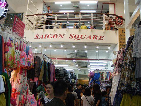 Sài Gòn Square - một trong 02 Trung tâm bị lực lượng QLTT TP HCM kiểm tra mới đây. Ảnh: internet