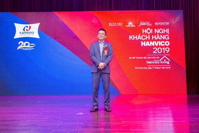 Ông Phạm Thanh Tùng trong buổi Hội nghị Khách hàng 2019