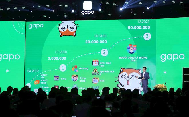 Chia sẻ trong buổi lễ ra mắt, ông Dương Vi Khoa, Giám đóc chiến lược Gapo khẳng định, Gapo muốn ra mắt sớm để liên tục nhận phản hồi của người dùng để hoàn thiện sản phẩm.