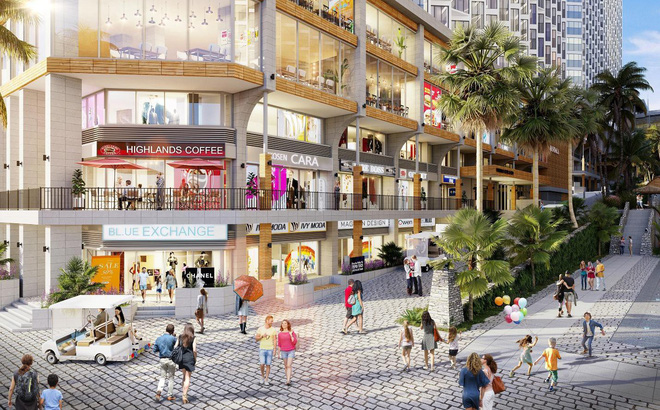 Shophouse Apec Mandala Wyndham Mũi Né là mô hình kinh doanh linh hoạt, đa dạng, nhiều tiềm năng khai thác.