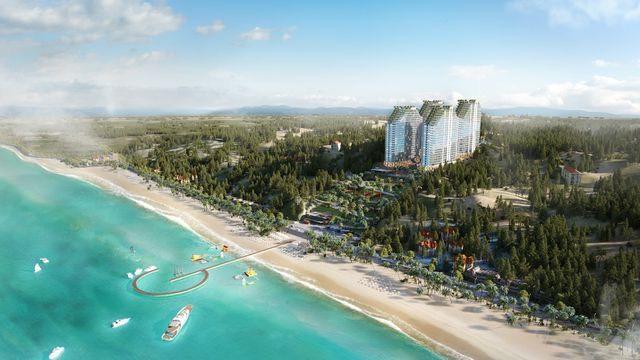Apec Mandala Wyndham Mũi Né dự kiến hoàn thành năm 2021, được kỳ vọng trở thành khách sạn 5 sao lớn nhất Việt Nam và lọt top thế giới.