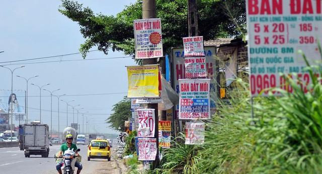 Giá đất nhiều địa phương tăng mạnh