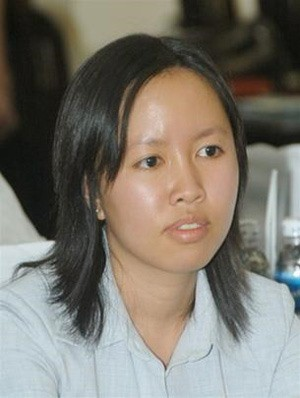 Cô con gái đầu lòng Trần Phương Ngọc Thảo của bà Cao Thị Mỹ Dung.