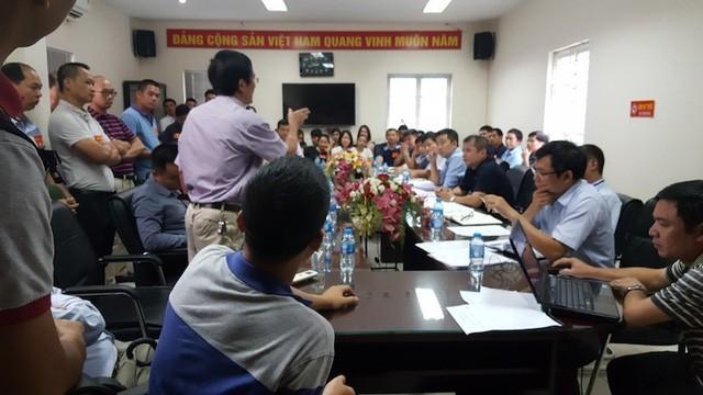 Cuộc đối thoại giữa cư dân với cơ quan chức năng TP Hà Nội (ngày 21/8).