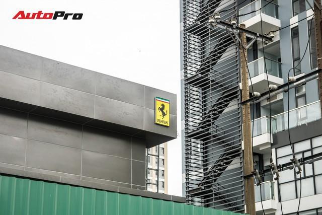 Đại lý chính hãng của Ferrari tại Việt Nam đang dần thành hình.