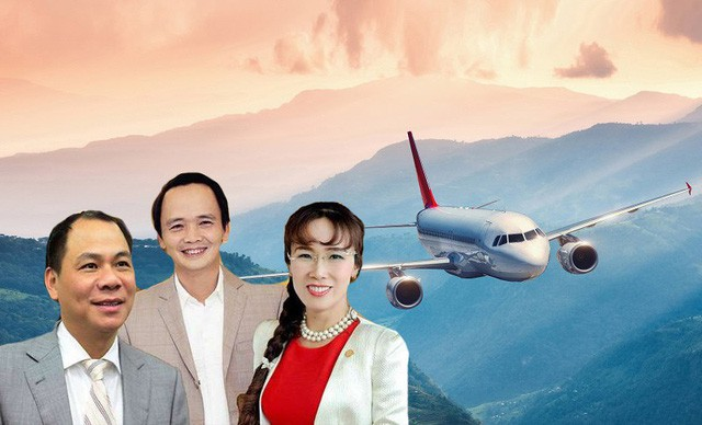 Các tỷ phú chiếm lĩnh thị trường hàng không