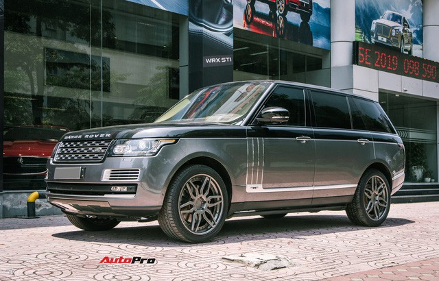 Range Rover là mẫu xe chinh phục được nhiều đại gia Việt. Ảnh: Lee Hoàng.