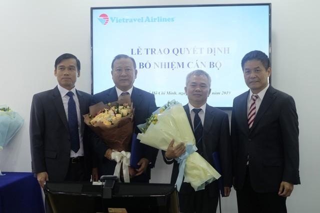 Ông Sơn và ông Vũ từng làm việc cho Vietnam Airlines với 30 kinh nghiệm lãnh đạo trong lĩnh vực hàng không và vừa nghỉ hưu.