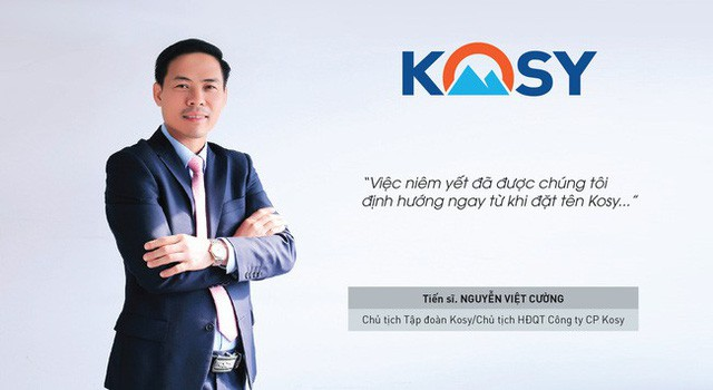 Ông Nguyễn Việt Cường giữ chức chủ tịch HĐQT kiêm Tổng giám đốc Kosy Group. (Ảnh website Kossy Group).