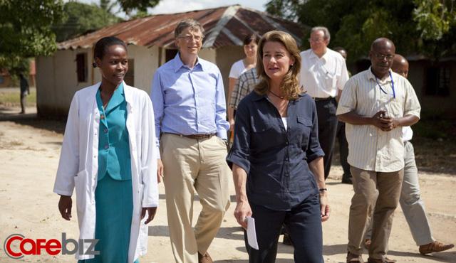 Vợ chồng tỷ phú Bill Gates hoạt động từ thiện rất tích cực.