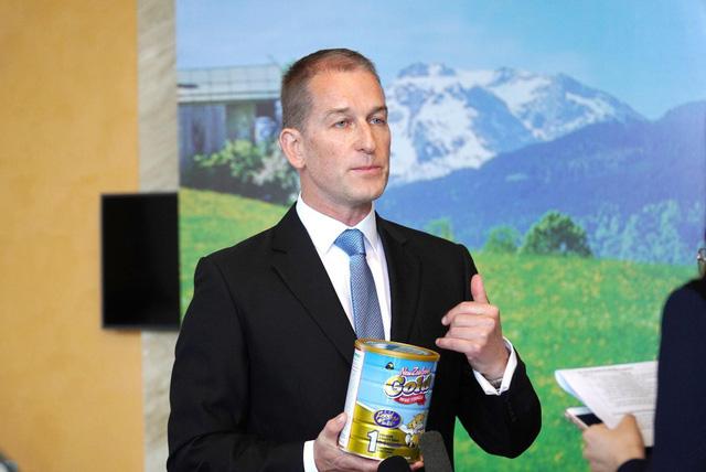 Ông Phil Wilson - Giám đốc kinh doanh của Pure Nutrition.