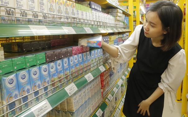 Bách hóa Xanh bắt đầu bán sữa nước rẻ hơn siêu thị 10-15%