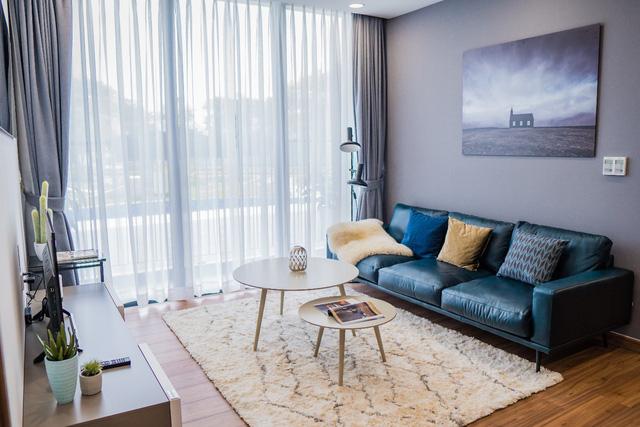 Các căn hộ tại Eco Green Saigon có thiết kế thông minh, trang bị nội thất cao cấp, ghi dấu ấnphong cách riêng của gia chủ