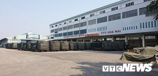 Xưởng sản xuất của Công ty Ô tô Hoa Mai.