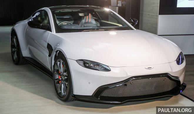 Aston Martin V8 Vantage. (Ảnh: Paultan)