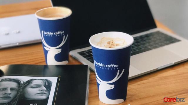 Luckin trở thành thương hiệu cà phê đang được giới công sở Trung Quốc ưa chuộng.