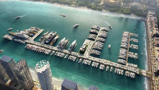 Cảng biển Dubai, dự kiến sẽ đi vào hoạt động năm 2020.