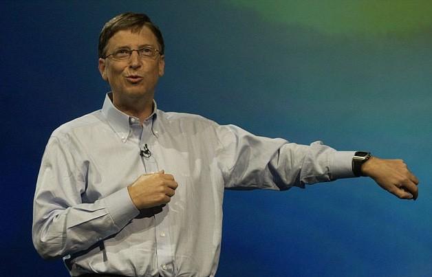 Bill Gates là một tỷ phú có lối sống giản dị.
