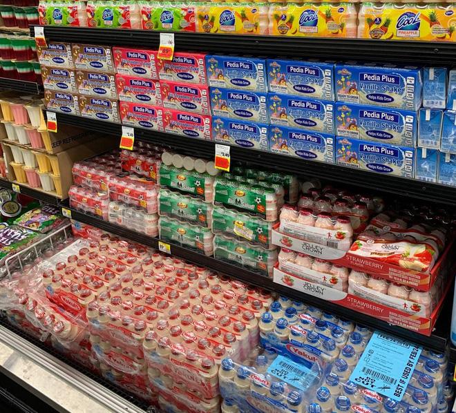 Sữa đặc trị cho trẻ biếng ăn Pedia Plus của NutiFood đã có mặt ở các siêu thị của Mỹ từ năm 2018.