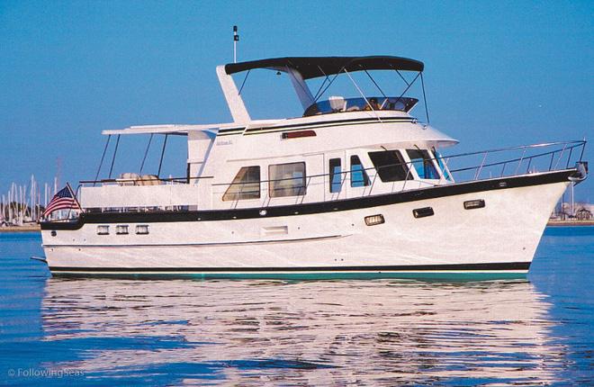 Một loại cruising trawler cổ điển